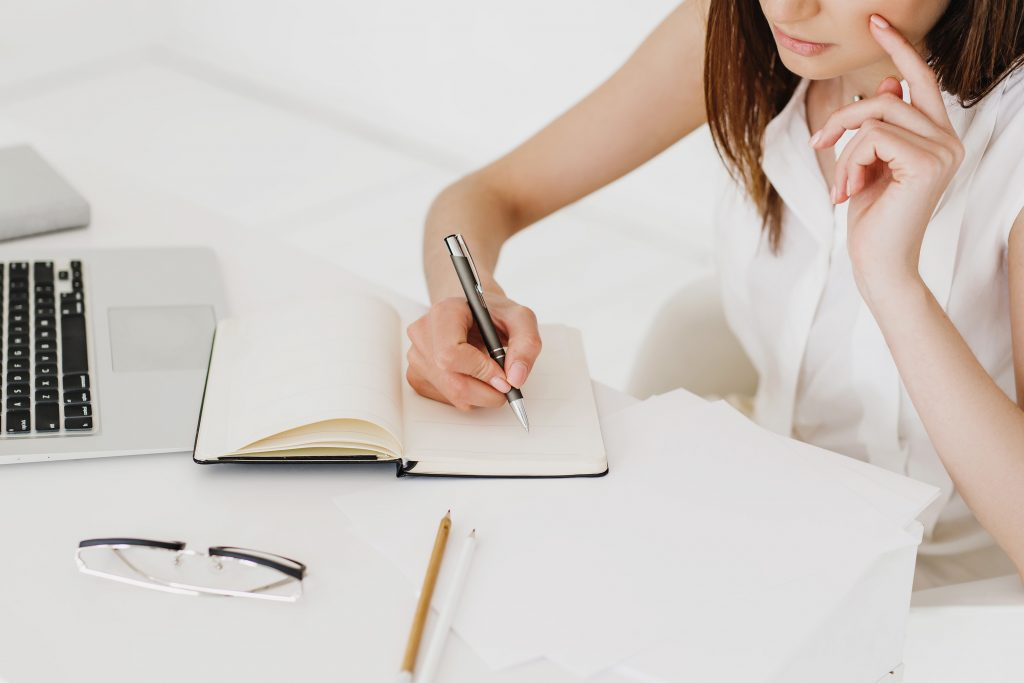 journalling helps changing your mind and reveals your inner thoughts on how to learn